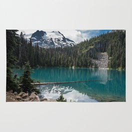 Joffre Lakes, Pemberton BC, Canada Rug