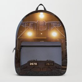Twilight Freight Train Backpack