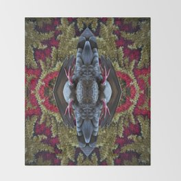 Refracted Reflected Throw Blanket