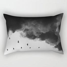 Bird migration Rectangular Pillow