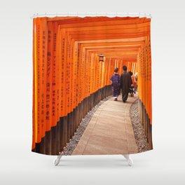 Kyoto, Pray, Love Shower Curtain