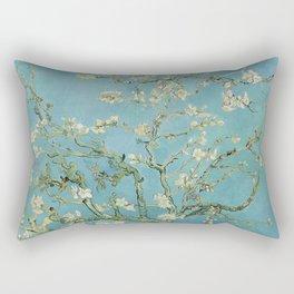 Blossoming Almond Tree, Vincent van Gogh Rectangular Pillow