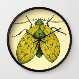 Moth n. 2 (ORIGINAL SOLD). Wall Clock