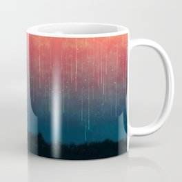 Meteor rain Coffee Mug