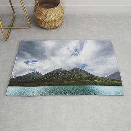 Beautiful Day Landscape Photography Alberta Rug