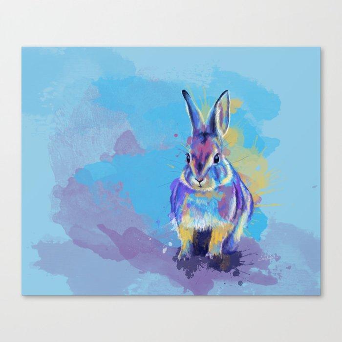 Bunny Dream Canvas Print