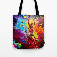 nba Tote Bags featuring NBA by Don Kuing