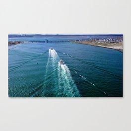 Sailing Through Canvas Print