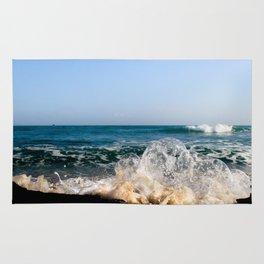 Wave Bubble Splash Rug