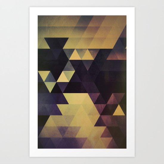blykk xtyyl Art Print