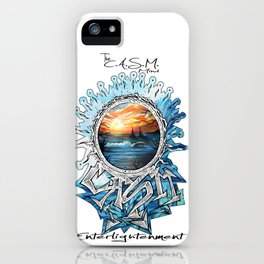Eye of CASM iPhone Case