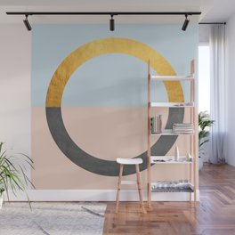 Gold Modern Art XVIII Wall Mural