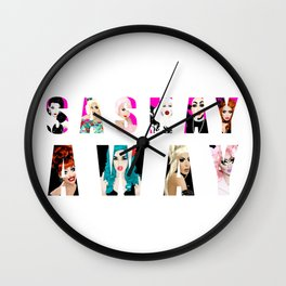 SASHAY AWAY feat. RuPaul's Drag Race Queens Wall Clock