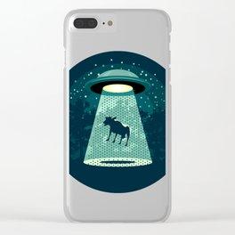 Beware UFO Clear iPhone Case
