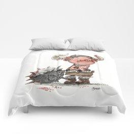 Cochon barbare Comforters