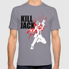 KILL JACK - SIREN Mens Fitted Tee X-LARGE Slate