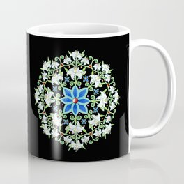 Folkloric Flower Crown Coffee Mug