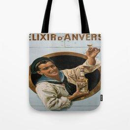 Vintage poster - Elixir d'Anvers Tote Bag
