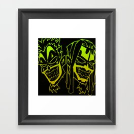 Icp heads Framed Art Print