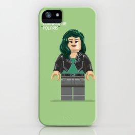 Pixel Polaris minifig iPhone Case