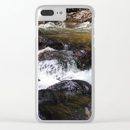 Rushing Clear iPhone Case