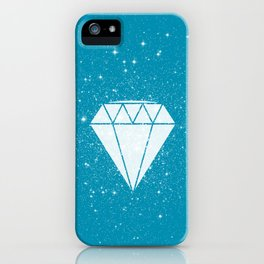Space Diamond (blue) iPhone Case