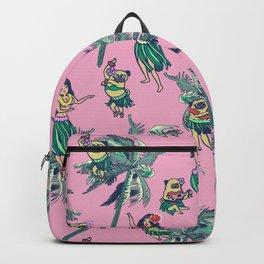Hawaii Hula with The Pug Backpack