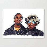outkast Canvas Prints featuring DeepMatter's favourite Hip Hop collectives - Outkast by DeepMatter