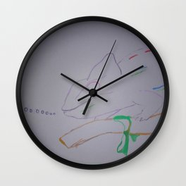 Here Comes the CHISME! Wall Clock