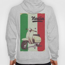Italia Scooter vintage poster Hoody