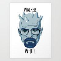 Walker White Art Print