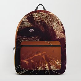 set your cat free vector art Backpack