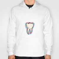 tooth Hoodies featuring Tooth by Constance Macé