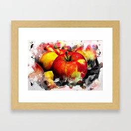 Fruits and berrys I Framed Art Print