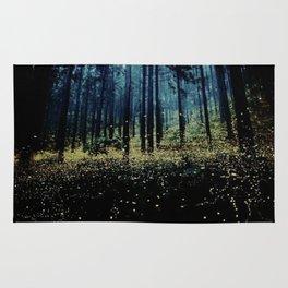 Twilight Fireflies Rug