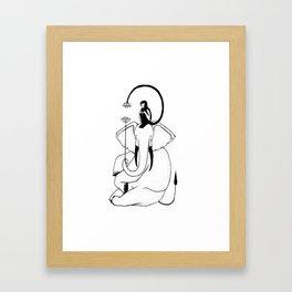 Hathi Framed Art Print