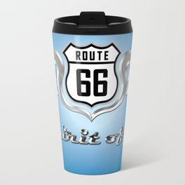 Tribute to the Spirit of 66 Travel Mug