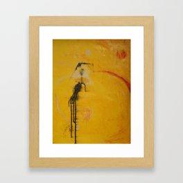 poise on Framed Art Print
