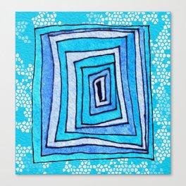 Vertigo Mosaic Canvas Print
