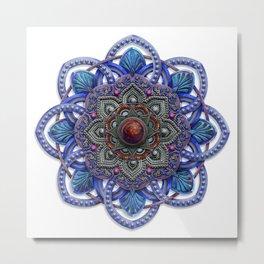 Explore Mandala Metal Print