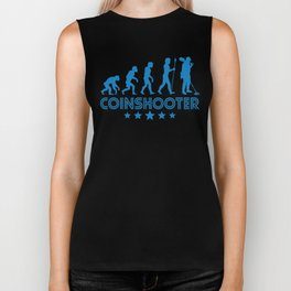 Retro Coinshooter Evolution Biker Tank