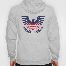 4th Of July Independence Day American Eagle Hoody