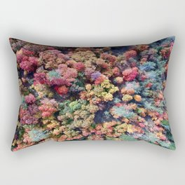 FOREST - AUTUMN - COLORS - PHOTOGRAPHY - NATURE Rectangular Pillow