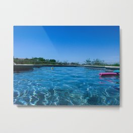 pool. Metal Print
