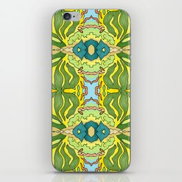 Lettuce Bloom Kaleidoscope iPhone Skin