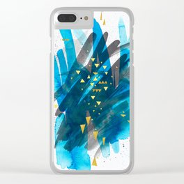 Will-o-the-wisp Clear iPhone Case
