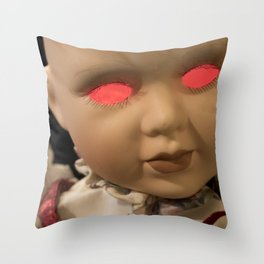 Dolly in the Attic III Throw Pillow