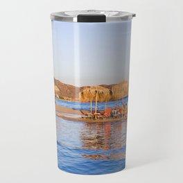 Elafonisi beach Travel Mug
