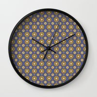 celestial Wall Clocks featuring Celestial by LibbyUnwin