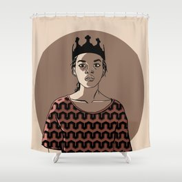 QUEEN TWO Shower Curtain